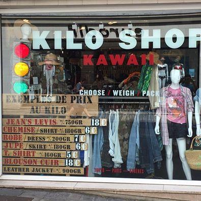 kilo shop kawaii d p t vente solderie pr t porter rouen centre vitrines de rouen. Black Bedroom Furniture Sets. Home Design Ideas